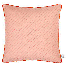 Buy The Jay St. Block Print Company Pomapoma Cushion Online at johnlewis.com