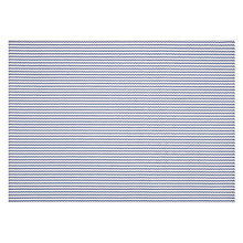 Buy John Lewis Polypropylene Placemat, Cobalt / White Online at johnlewis.com