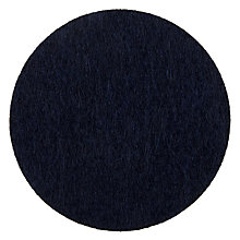 Buy House by John Lewis Felt Coaster, Navy Online at johnlewis.com