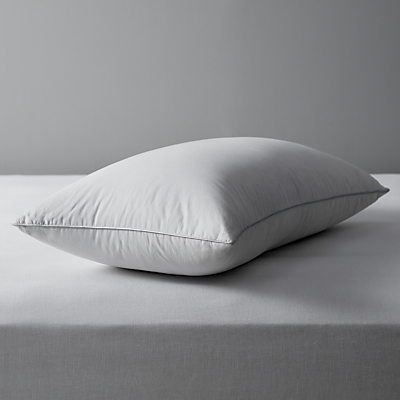 John Lewis British Goose Down Pillow, Medium / Firm