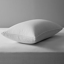Buy John Lewis British Goose Down Standard Pillow, Soft / Medium Online at johnlewis.com