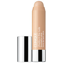 Buy Clinique Chubby Nude Foundation Stick Online at johnlewis.com