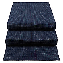 Buy John Lewis Croft Collection Tetbury Lurex Table Runner, Navy Online at johnlewis.com