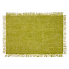 Buy John Lewis Villa Toscana Napoletana Placemat, Green Online at johnlewis.com