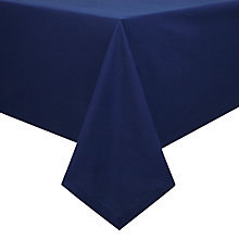 Buy House by John Lewis Tablecloth, Navy Online at johnlewis.com