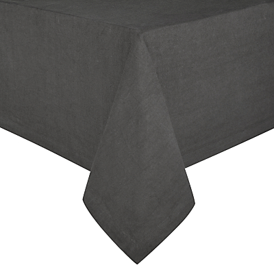 John Lewis Croft Collection Emberton Tablecloth, Steel