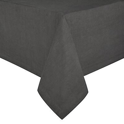 John Lewis Croft Collection Emberton Tablecloth, Steel