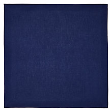 Buy House by John Lewis Napkin, set of 6, Navy Online at johnlewis.com