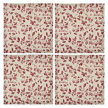 Buy John Lewis Ravensworth Napkin, Set of 4 Online at johnlewis.com