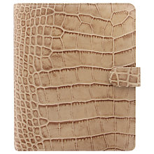 Buy Filofax Classic Croc-Effect A5 Organiser Online at johnlewis.com