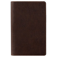 Buy Filofax Heritage Personal Compact Organiser, Brown Online at johnlewis.com