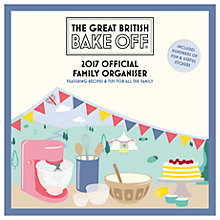 Buy The Great British Bake Off 2017 Family Organiser Online at johnlewis.com
