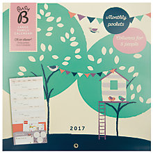 Buy Busy B 2017 Large Family Calendar Online at johnlewis.com
