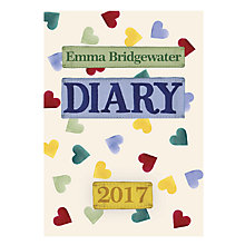 Buy Emma Bridgewater 2017 Diary, A6 Online at johnlewis.com
