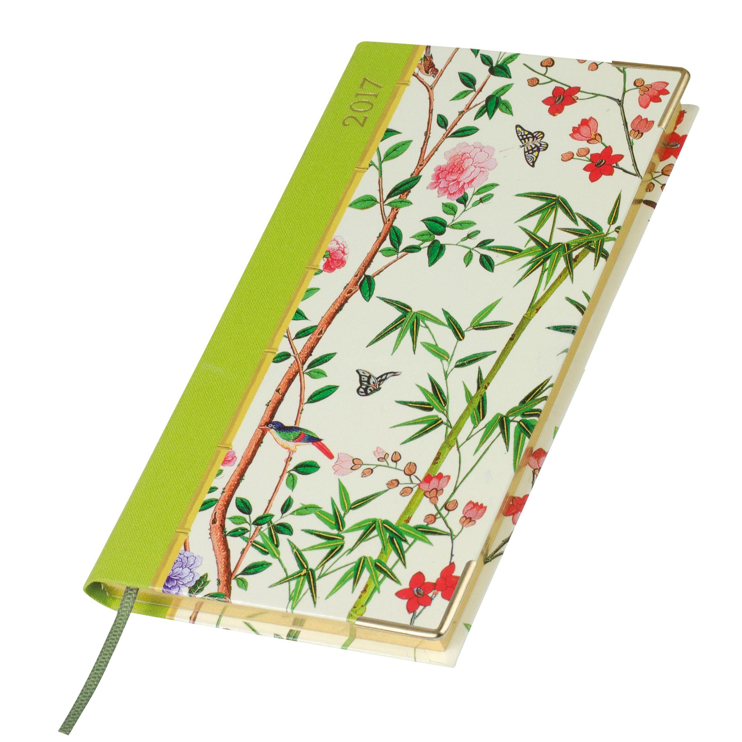Caspari Caspari Butterflies And Birds Slim 2017 Diary