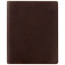 Buy Filofax Heritage A5 Compact Organiser, Brown Online at johnlewis.com