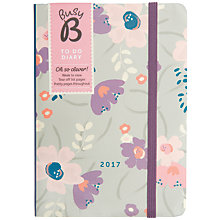 Buy Busy B 2017 Floral To Do Diary Online at johnlewis.com
