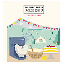 Buy The Great British Bake Off 2017 A5 Diary Online at johnlewis.com