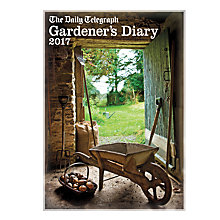 Buy The Daily Telegraph Gardeners 2017 Diary, A5 Online at johnlewis.com