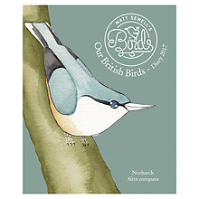Buy Matt Sewell Our British Birds 2017 Diary, A5 Online at johnlewis.com