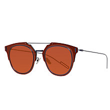 Buy Christian Dior Diorcomposit1.0 Round Sunglasses Online at johnlewis.com