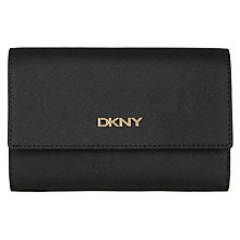 Buy DKNY Bryant Park Saffiano Leather Tri-fold Wallet Online at johnlewis.com