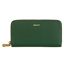 Buy DKNY Chelsea Vintage Leather Zip Around Purse Online at johnlewis.com