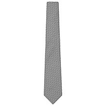Buy Reiss Jaquard Tie, Monochrome Online at johnlewis.com