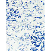 Buy Ralph Lauren Homeport Novelty Wallpaper, Marine, Prl030/03 Online at johnlewis.com