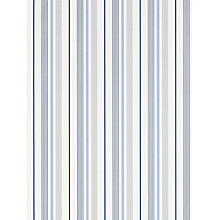 Buy Ralph Lauren Gable Stripe Wallpaper, French Blue, PRL057/01 Online at johnlewis.com