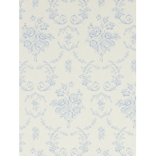 Buy Ralph Lauren Saratoga Toile Wallpaper, Bluebell PRL033/02 Online at johnlewis.com