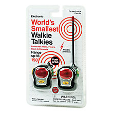 Buy Smallest Walkie Talkies, Pack of 2 Online at johnlewis.com