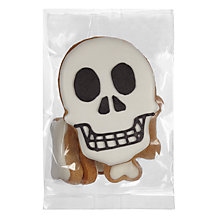 Buy Skull & Bones Biscuit Bag, 70g Online at johnlewis.com