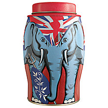 Buy Williamson Tea Britannia Elephant Tea Caddy Online at johnlewis.com