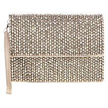 Buy Coast Felicia Clutch Bag, Silver Online at johnlewis.com