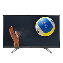 "Buy Panasonic Viera 40DX600B LED 4K Ultra HD Smart TV, 40"" With Freeview Play, Built-In Wi-Fi & Art Of Interior Tailored Design Online at johnlewis.com"