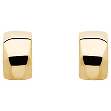 Buy Finesse Curve Hoop Earrings Online at johnlewis.com