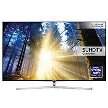 "Buy Samsung UE49KS8000 SUHD HDR 1,000 4K Ultra HD Quantum Dot Smart TV, 49"" with Freeview HD/Freesat HD & 360° Design, UHD Premium Online at johnlewis.com"