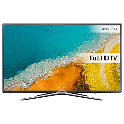 "Samsung UE55K5500 LED HD 1080p Smart TV, 55"" with Freeview HD, Built-In Wi-Fi & SmartThings Compatibility, Dark Grey/Silver"