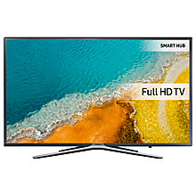"Buy Samsung UE55K5500 LED HD 1080p Smart TV, 55"" with Freeview HD, Built-In Wi-Fi & SmartThings Compatibility, Dark Grey/Silver Online at johnlewis.com"