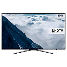 "Buy Samsung UE55KU6400 HDR 4K Ultra HD Smart TV, 55"" with Freeview HD/Freesat HD, Playstation Now & Active Crystal Colour Online at johnlewis.com"