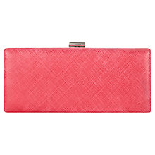 Buy Phase Eight Elle Clutch Bag, Magenta Online at johnlewis.com