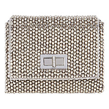 Buy Coast Felicia Mini Across Body Bag, Silver Online at johnlewis.com