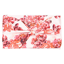 Buy Coast Printed Bow Clutch Bag Online at johnlewis.com