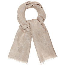 Buy Studio 8 Phoebe Scarf, Silver Online at johnlewis.com