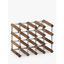 Buy The Traditional Wine Rack Company Dark Oak Wine Rack, 16 Bottle Online at johnlewis.com