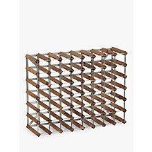 Buy The Traditional Wine Rack Company Dark Oak Wine Rack, 56 Bottle Online at johnlewis.com