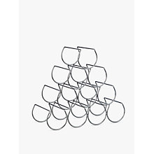 Buy John Lewis Triangular Wine Rack, 10 Bottle Online at johnlewis.com