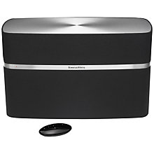 Buy Bowers & Wilkins Recertified A7 Speaker with Apple AirPlay, Black Online at johnlewis.com