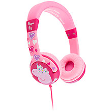 Buy Kondor Peppa Pig Princess Children's On Ear Headphones Online at johnlewis.com